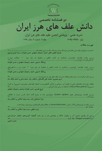 دانش علفهای هرز ایران